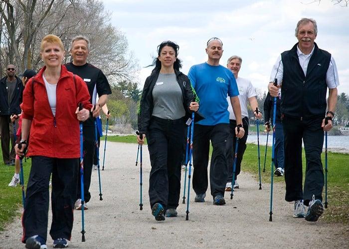 Nordic Pole Walking